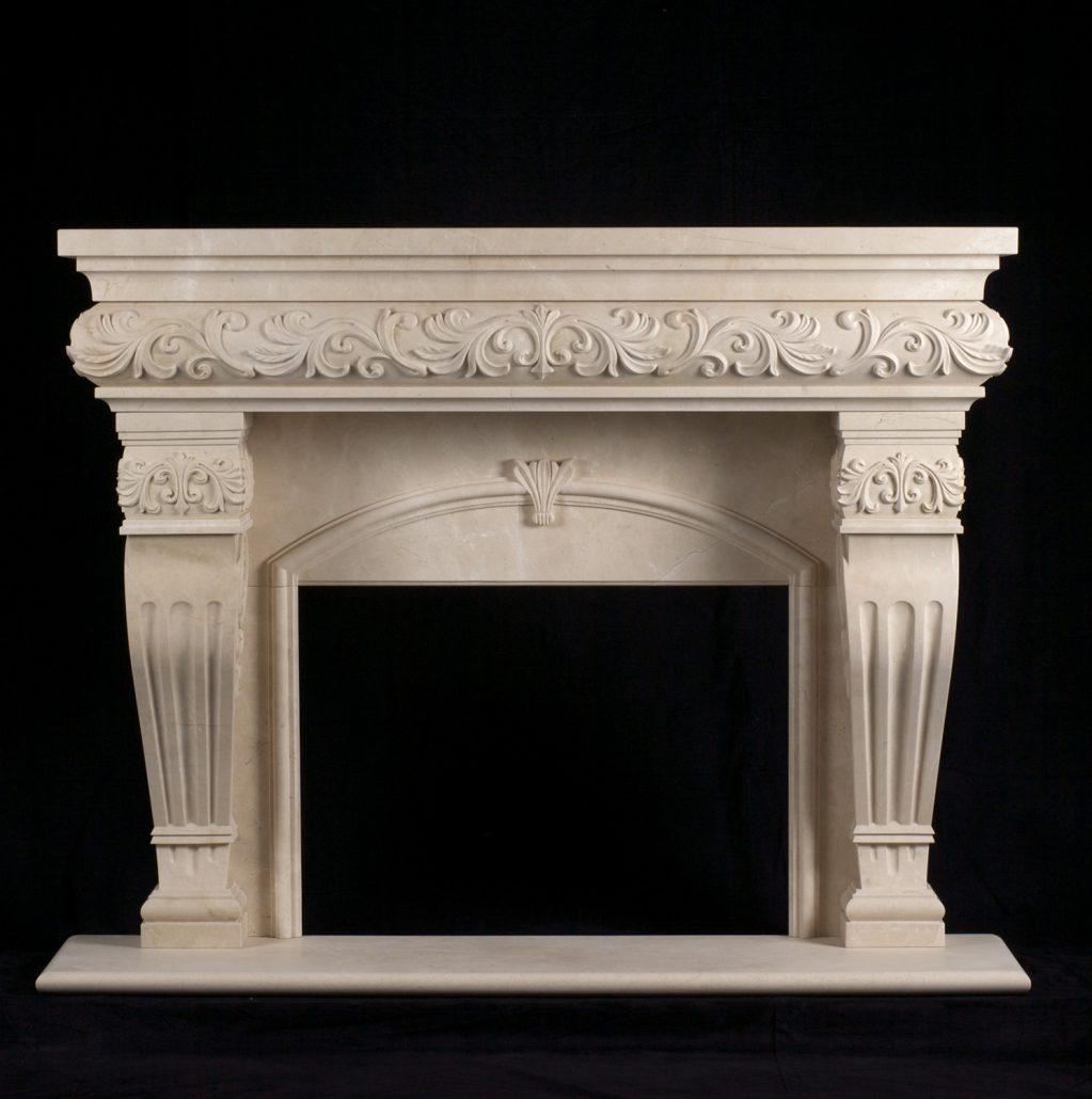 Custom Italian Amp Tuscan Stone Fireplace Mantels