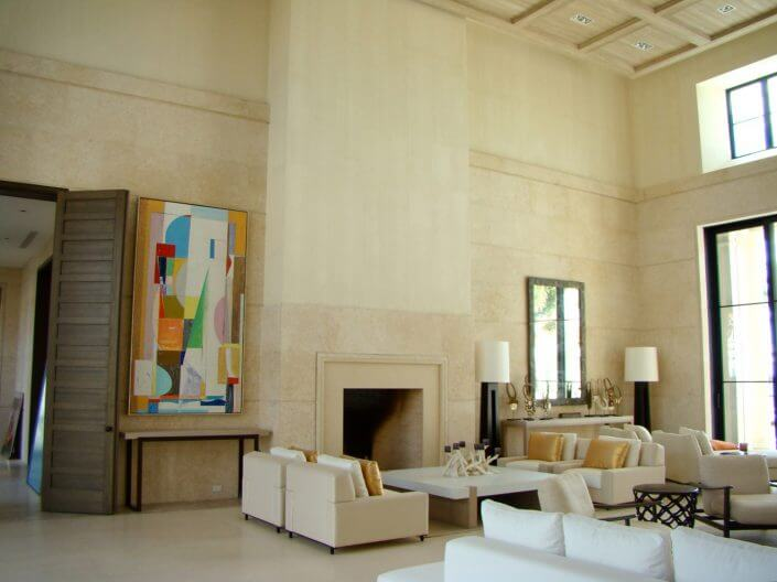 Cladded Living Room