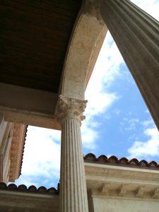 Deassi towering column