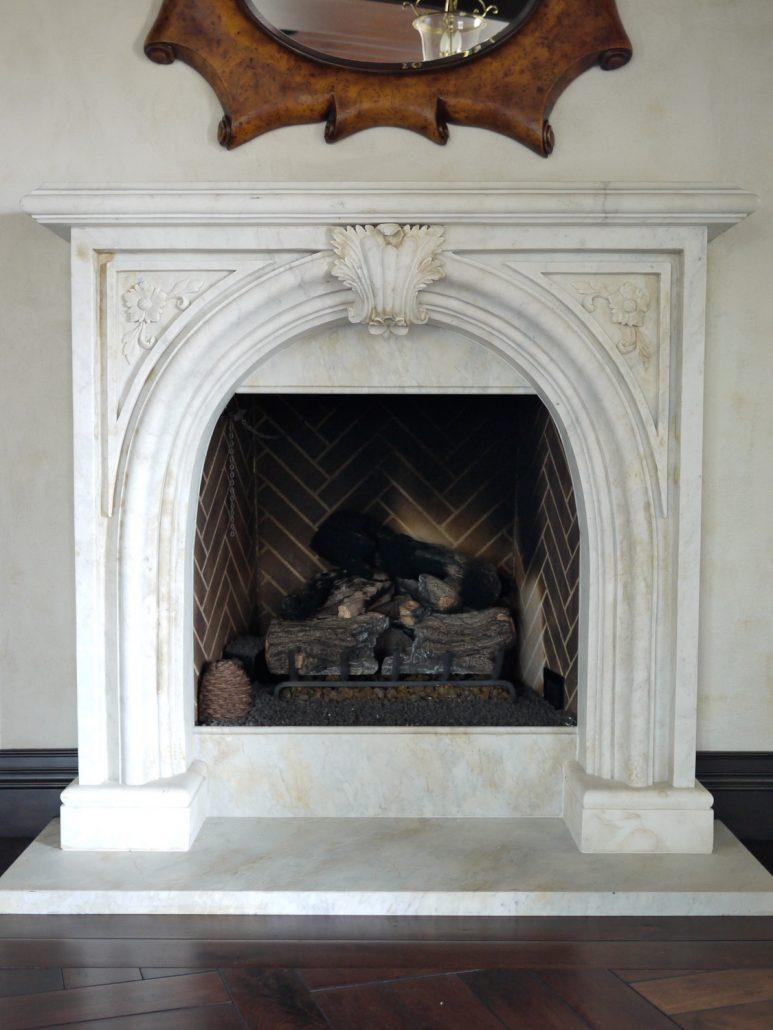 English Amp Gothic Stone Fireplace Mantels Bt