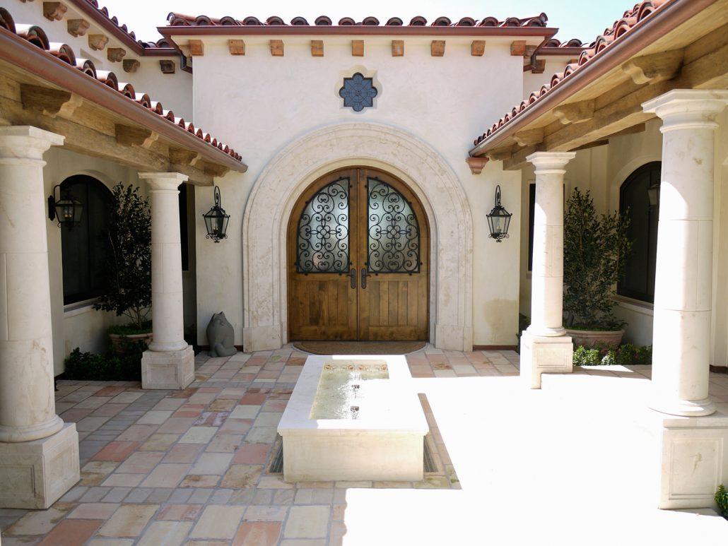 Goelman Entry Courtyard