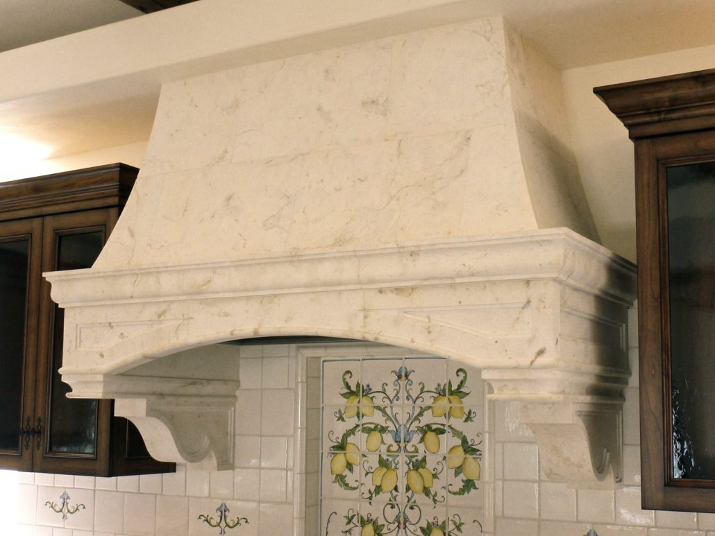 Custom Stone Kitchen Hoods Bt Arch Stone