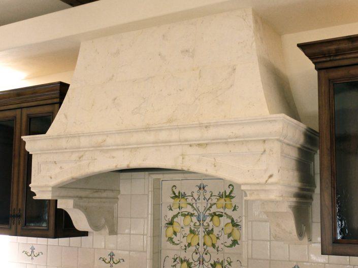 Goelman in Crema limestone