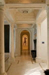 Gold Hallway