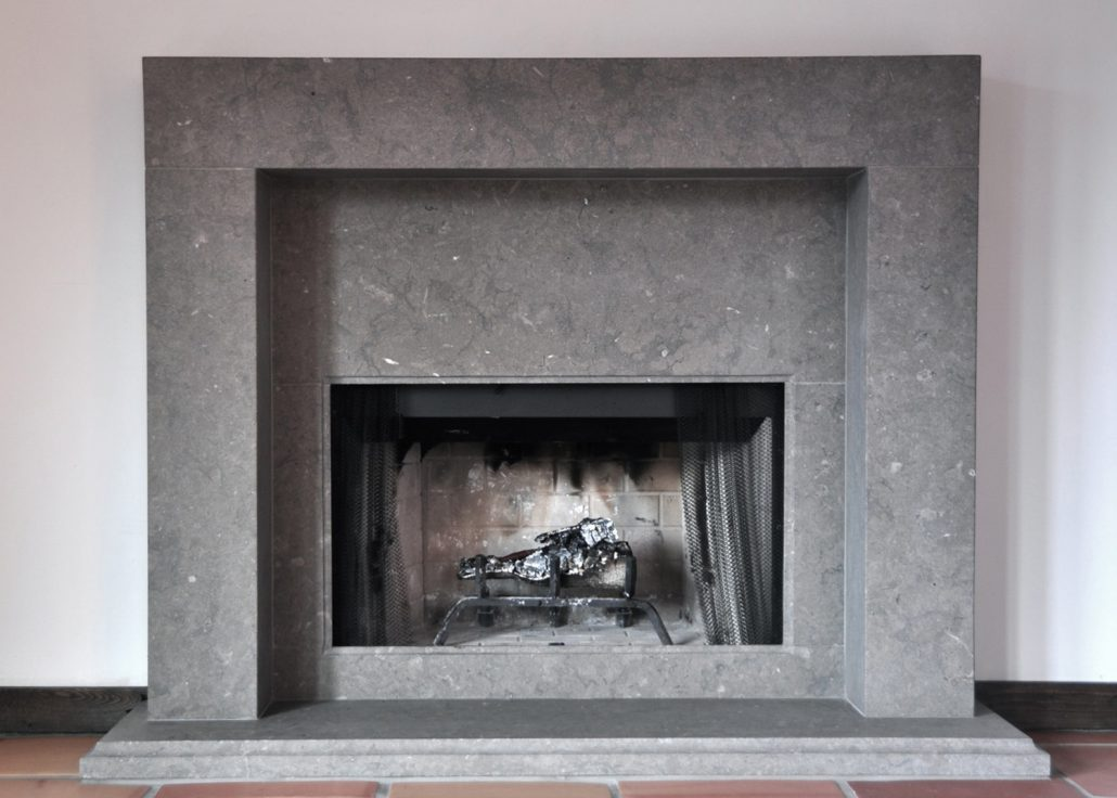 Contemporary Stone Fireplace Mantels - BT Architectural Stone