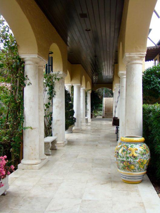 JVK exterior colonnade
