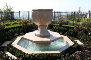 Octagonal Urn Fountain