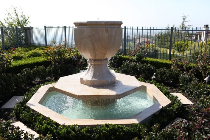 Octagonal Urn Fountain