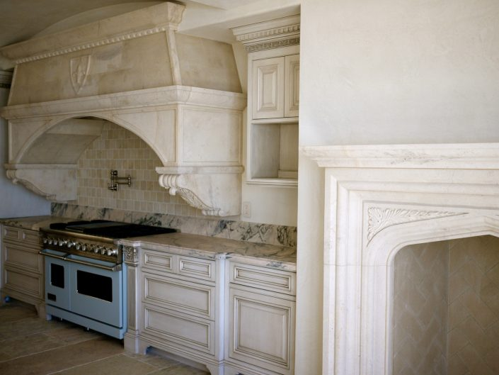 Custom Stone Kitchen Hoods | BT Arch Stone