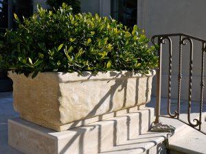 Rustic Planter in Lanvignes limestone