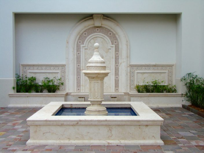 Topp square fountain