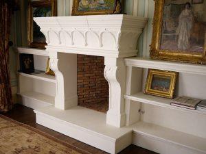 Torre Alberti Fireplace mantel