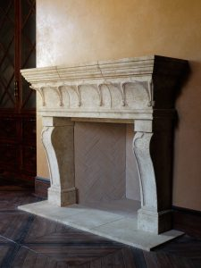 Torre Alberti in Lanvignes limestone