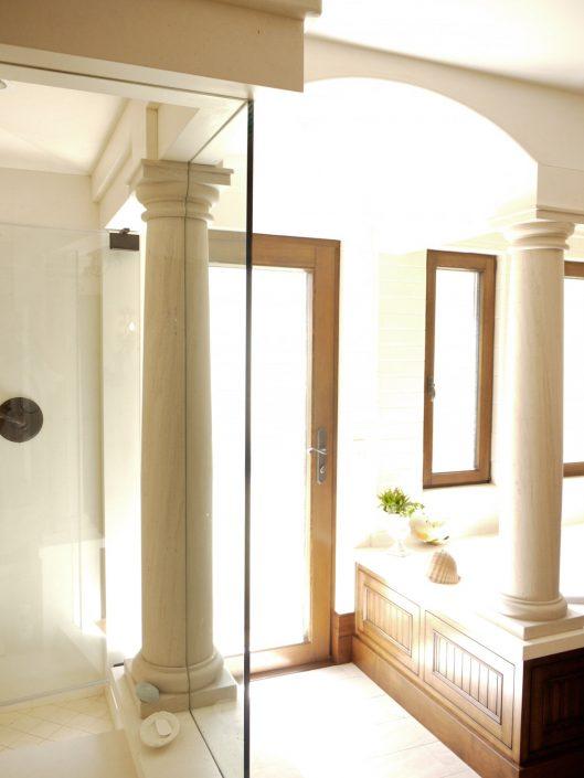 Tuscan Columns in Portuguese limestone