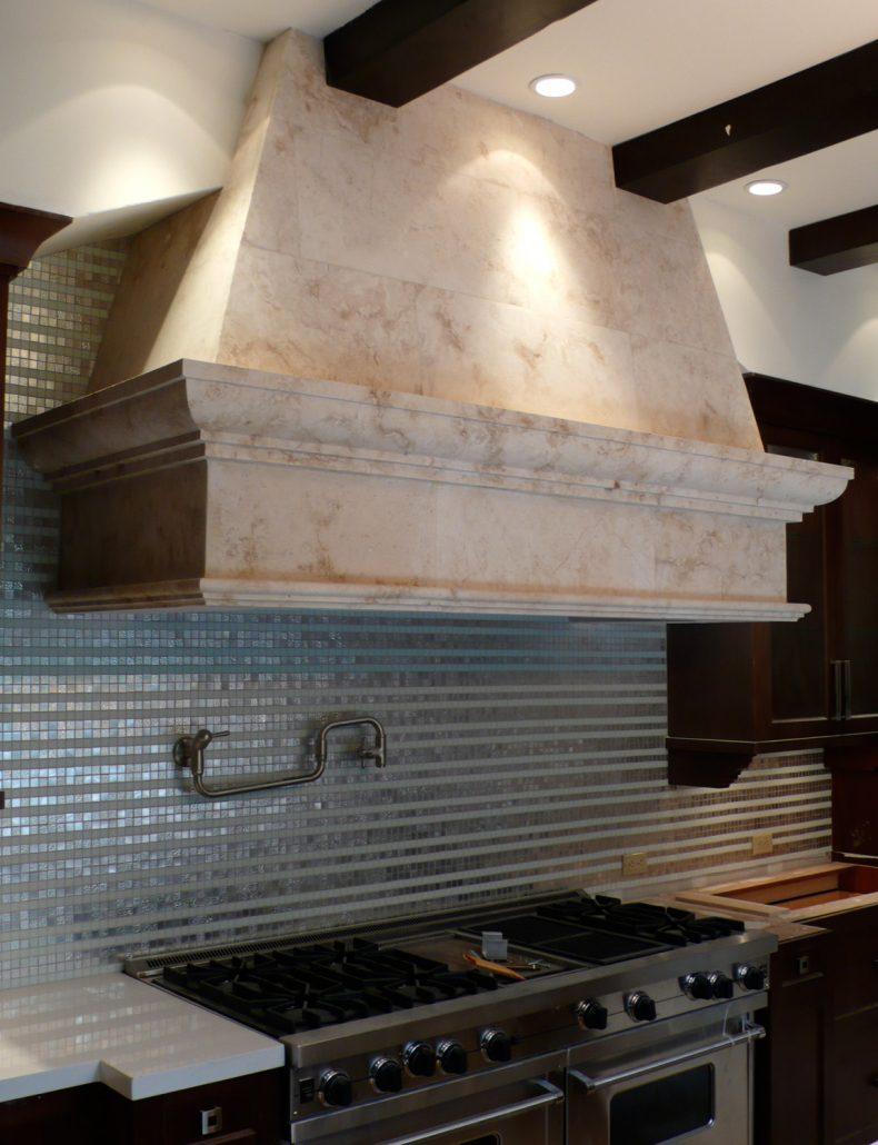 Tuscan in Crema limestone