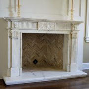 English & Gothic Stone Fireplace Mantels