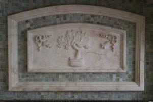 Backsplash Carving