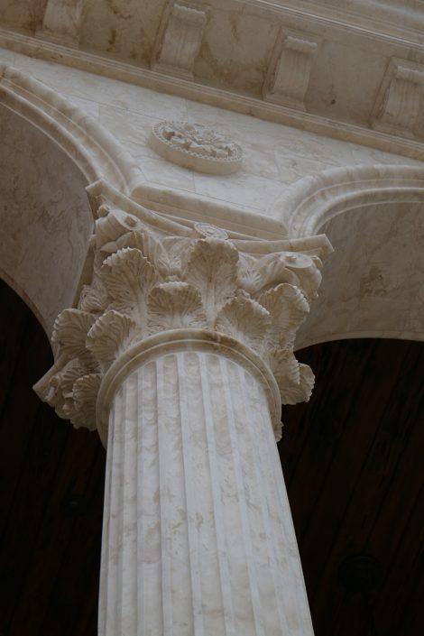 Corinthian Column Detail