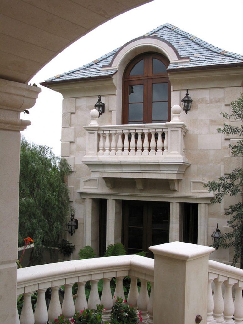 East balcony distance
