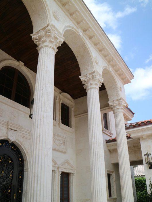 Fluted Corinthian Columns