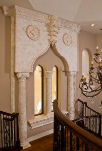Venetian window surround