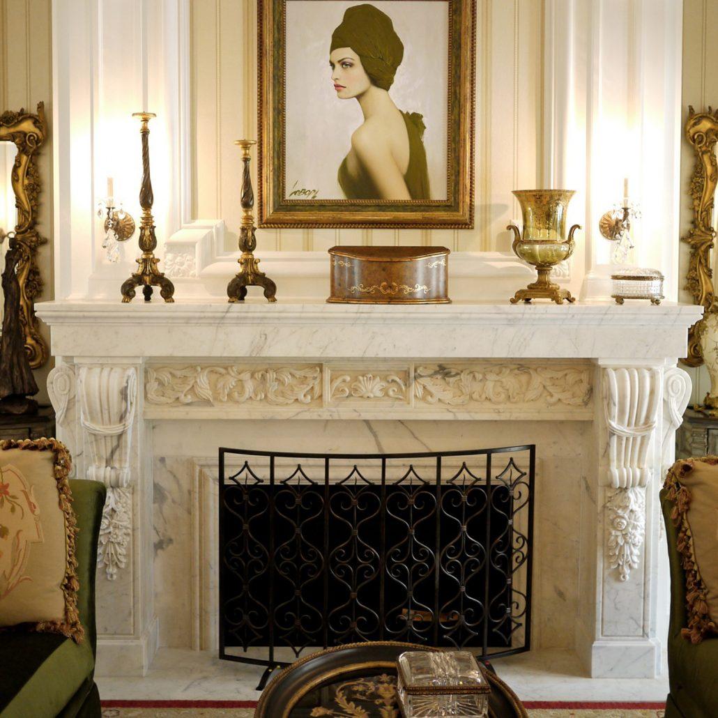Kenco custom stone fireplaces
