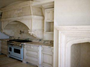 custom stovetop kitchen hood The Rambert