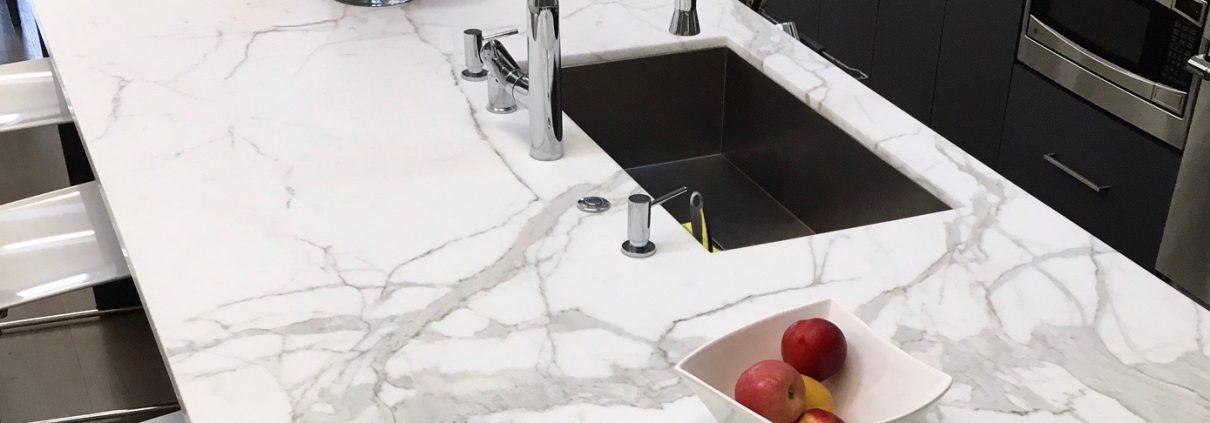 natural stone interior kitchen counters